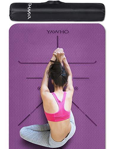 YAWHO Yogamatte hochwertige TPE ist...