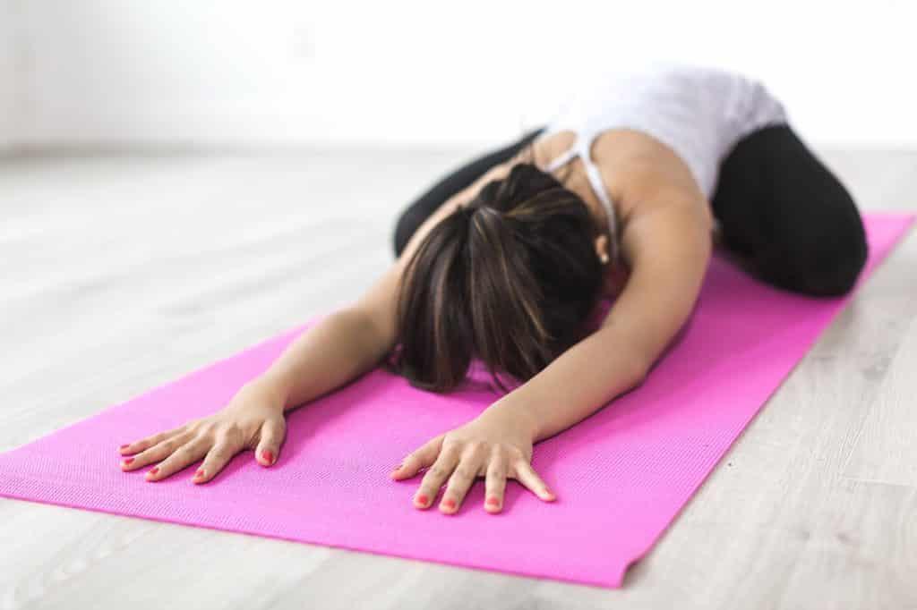 yoga sitz strecken
